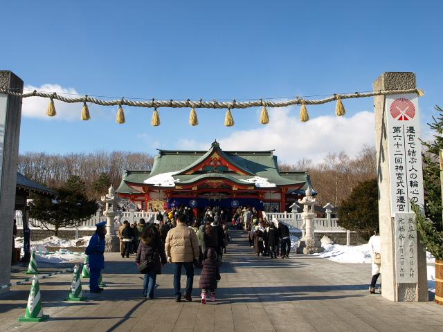 樽前山神社と初詣 2013_d0153062_8203814.jpg