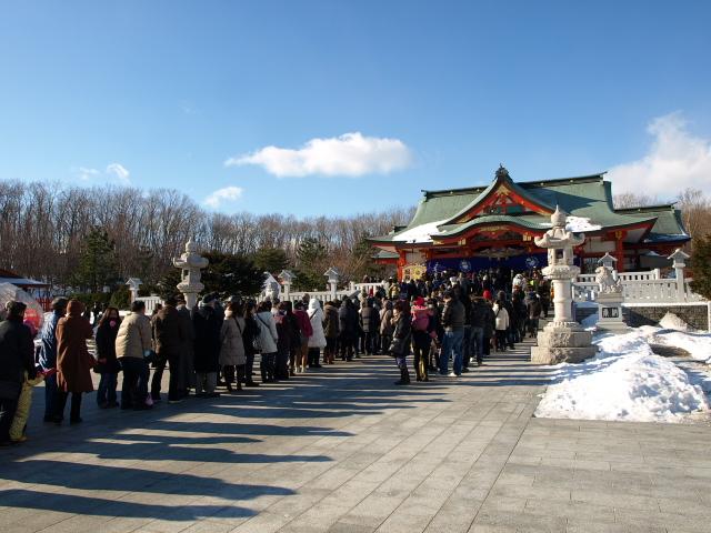 樽前山神社と初詣 2013_d0153062_8205040.jpg