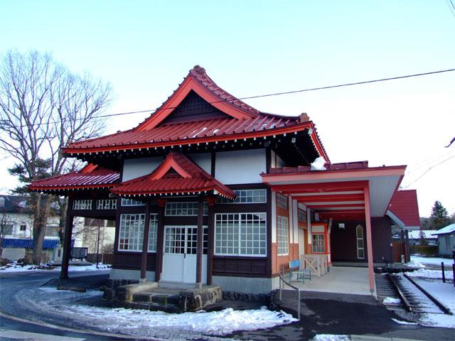 旧・草軽電鉄 北軽井沢駅舎_a0179837_14294836.jpg