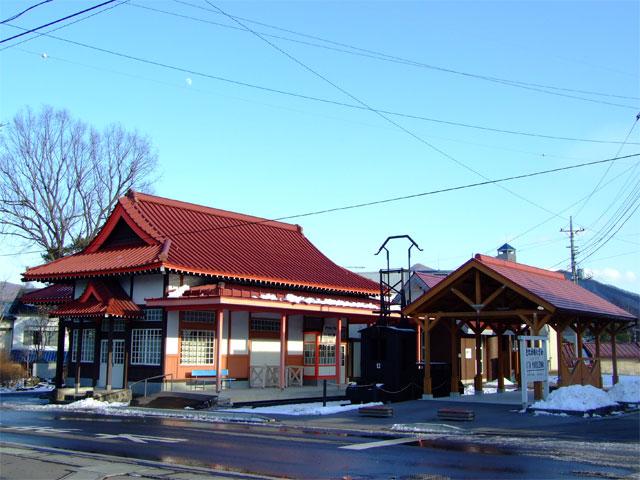 旧・草軽電鉄 北軽井沢駅舎_a0179837_14304639.jpg