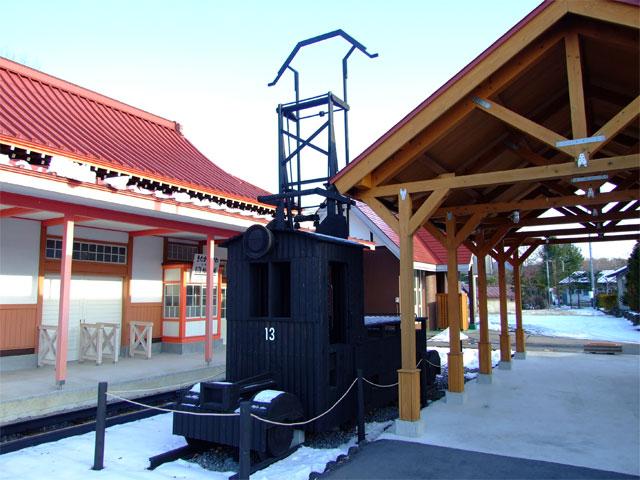 旧・草軽電鉄 北軽井沢駅舎_a0179837_14313478.jpg
