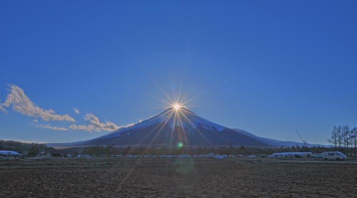 花の都公園ダイヤモンド富士_a0150260_2252966.jpg