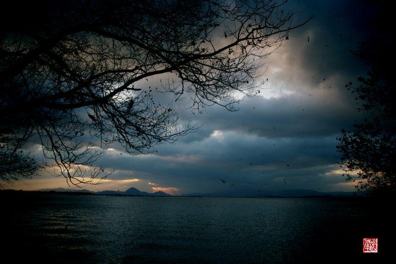 冬・琵琶湖の朝_a0157263_2148484.jpg