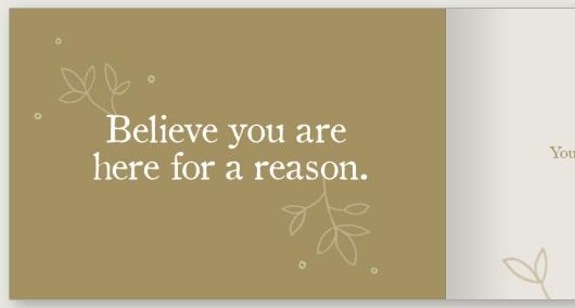 新年の読書に良いかも? ポジティブ名言本ビリーブ〔Believe: A gift to celebrate new beginnings〕_b0007805_12442367.jpg