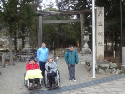 丹生神社へ初詣!_a0154110_1675215.jpg