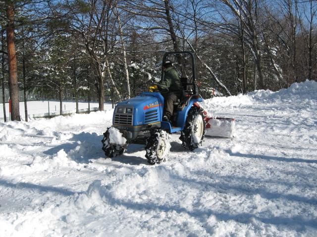 雪が降りましたネ!_f0146620_1783171.jpg