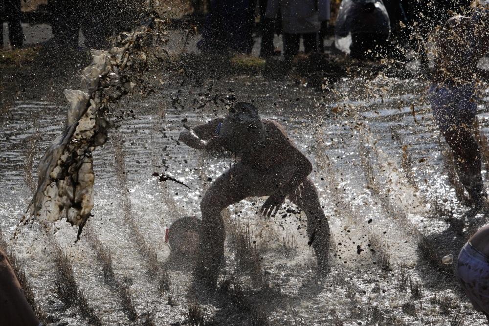 三春町 「西方の水かけまつり」 <3>FINAL 2013年 元旦_e0143883_171299.jpg