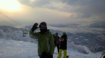 2013 元旦雪山ツアーinジャム勝_f0163105_16131774.jpg