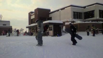 2013 元旦雪山ツアーinジャム勝_f0163105_1613480.jpg