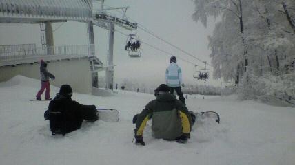 2013 元旦雪山ツアーinジャム勝_f0163105_16135011.jpg
