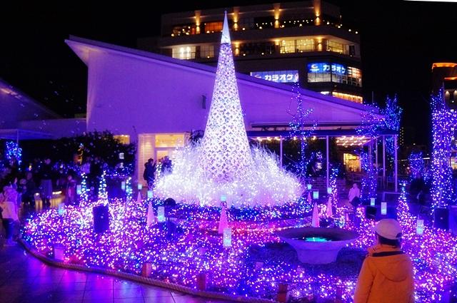 湘南テラスモールのクリスマスイルミネーション_b0145398_21273075.jpg