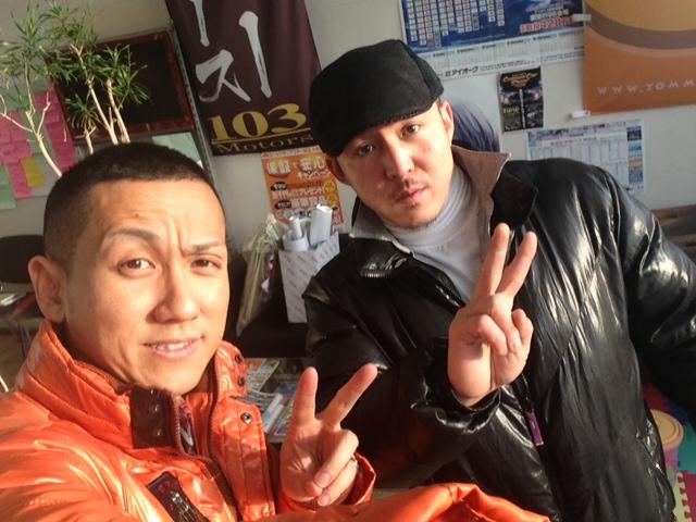 菅原組長が新年のご挨拶に来てくれました(^^)_b0127002_17572517.jpg