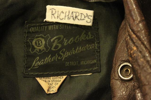 BROOKS LEATHER SPORTS JACKET_d0121303_12554218.jpg