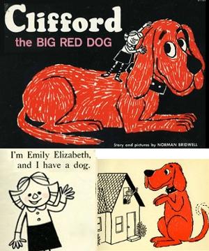 NY生まれのワンちゃんの人気絵本キャラクター Clifford the Big Red Dog_b0007805_22585915.jpg