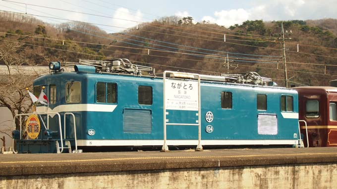 初詣列車                        埼玉県・長瀞町_d0149245_939827.jpg