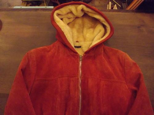 ~1980's ナイスカラー! スエードパーカー JKT_a0182112_19334094.jpg
