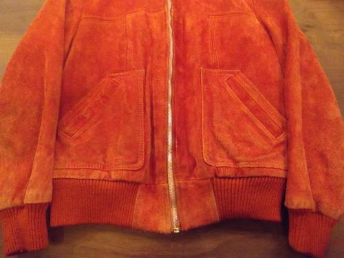 ~1980's ナイスカラー! スエードパーカー JKT_a0182112_1934052.jpg