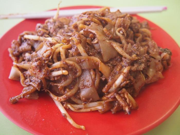 2012 9月 シンガポール (20) 最後の朝  Fried Kway Teow Mee@Hong Lim FC_f0062122_545739.jpg
