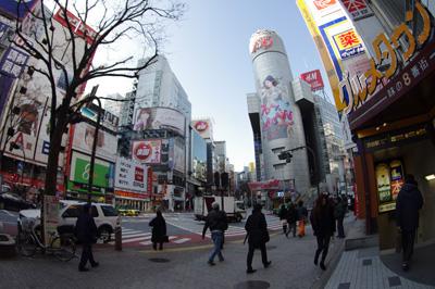 1月8日(火)今日の渋谷109前交差点_b0056983_1654081.jpg