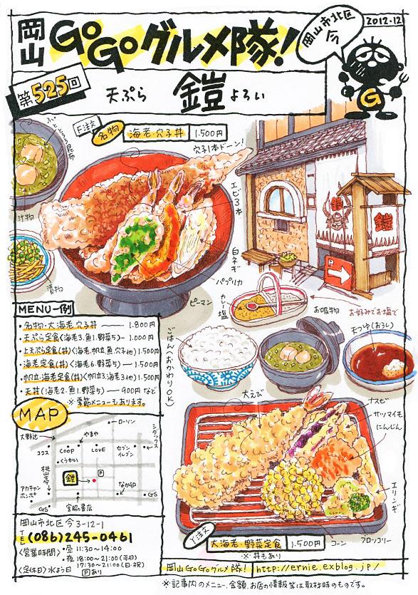 天ぷら・鎧(よろい)_d0118987_15101562.jpg