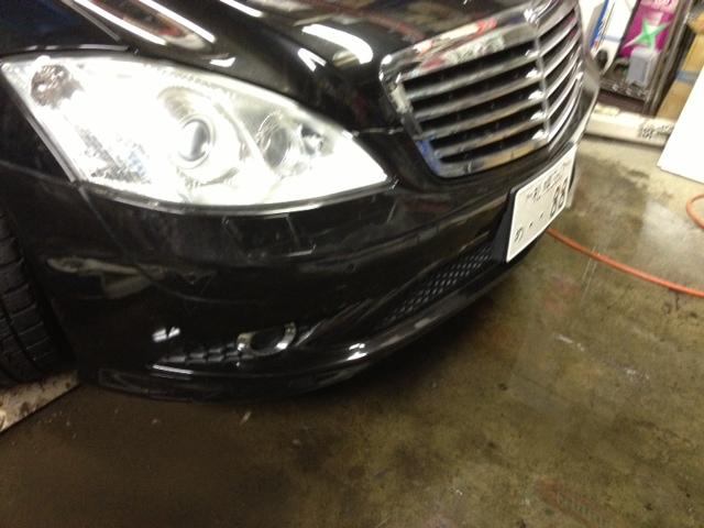 ベンツ AMG S550 W221 エアロ マフラー 取付 札幌 トミー_b0127002_2323342.jpg