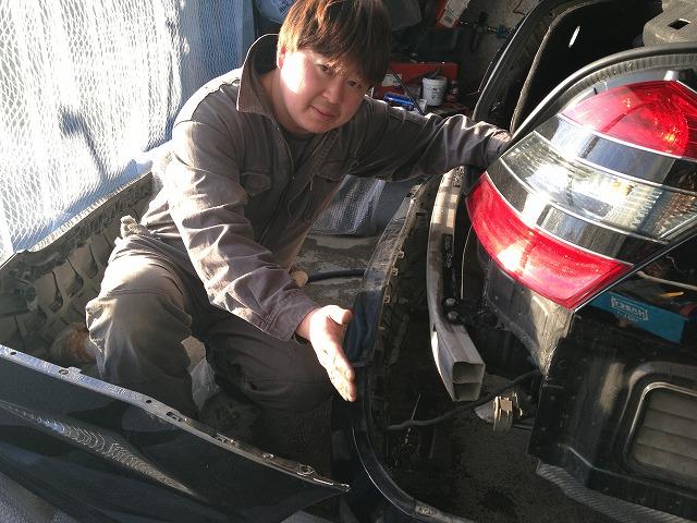 ベンツ AMG S550 W221 エアロ マフラー 取付 札幌 トミー_b0127002_2331472.jpg