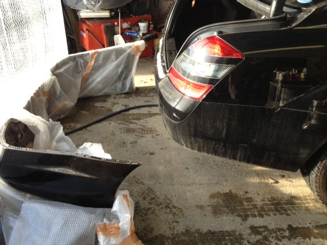 ベンツ AMG S550 W221 エアロ マフラー 取付 札幌 トミー_b0127002_2332572.jpg