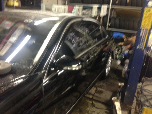 ベンツ AMG S550 W221 エアロ マフラー 取付 札幌 トミー_b0127002_2374889.jpg