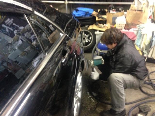 ベンツ AMG S550 W221 エアロ マフラー 取付 札幌 トミー_b0127002_23756100.jpg