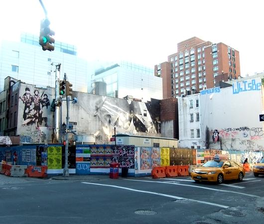 冬の陽射しに包まれたニューヨークSOHOの街並み_b0007805_20502695.jpg