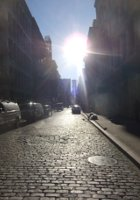 冬の陽射しに包まれたニューヨークSOHOの街並み_b0007805_20564761.jpg