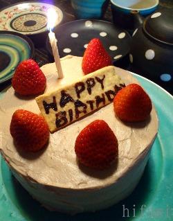 特別なBirthday Cake!_c0176406_1955265.jpg