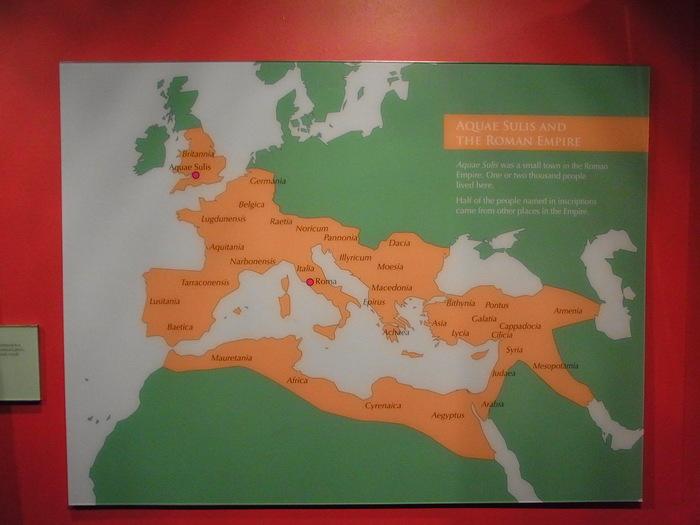 ローマ時代の浴場 ローマンバス(The Roman Baths)_d0116009_10503945.jpg