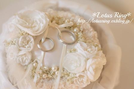 weddingリングピロー*_a0169912_13191424.jpg