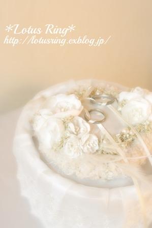 weddingリングピロー*_a0169912_13194225.jpg