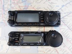 FT-857 着弾 & FT-100 と比較_d0106518_1536219.jpg