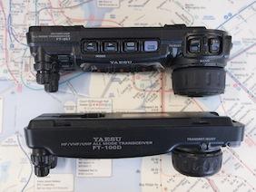 FT-857 着弾 & FT-100 と比較_d0106518_15371863.jpg