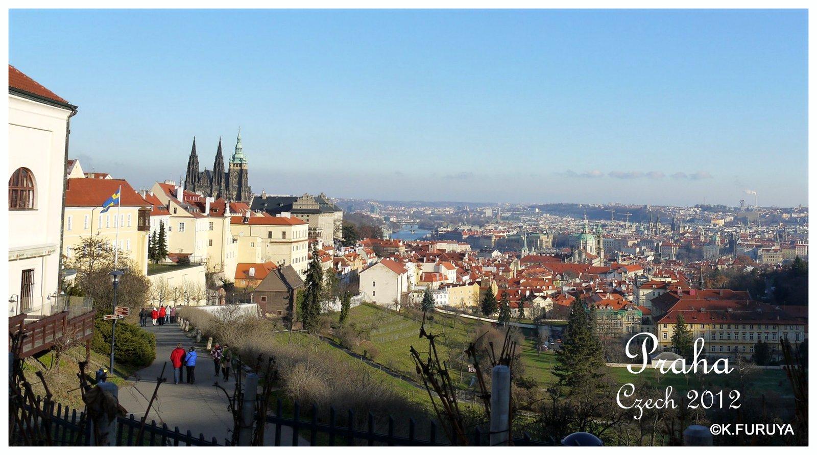 プラハ 1  ストラホフ修道院_a0092659_1716379.jpg
