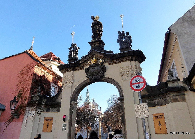プラハ 1  ストラホフ修道院_a0092659_1732463.jpg