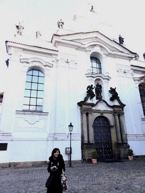 プラハ 1  ストラホフ修道院_a0092659_2231297.jpg