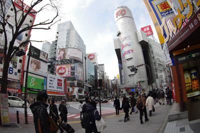 1月9日(水)今日の渋谷109前交差点_b0056983_11211895.jpg