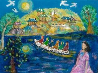 2013/1/23-1/28 -抒情歌を描く・伝統の宝石と洋服- 武生弘子作品展_e0091712_0401523.jpg