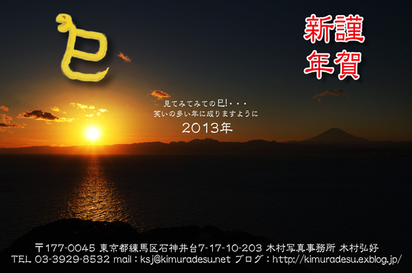 2013/01/03 年賀状特設展 2013:その2_b0171364_20202791.jpg