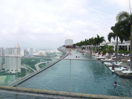 シンガポールへの旅(5)―マリーナ・ベイ・サンズ、プール_e0123104_613391.jpg