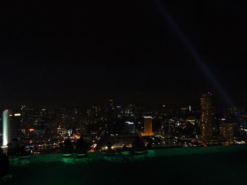 シンガポールへの旅(5)―マリーナ・ベイ・サンズ、プール_e0123104_629316.jpg