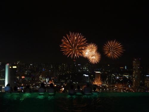 シンガポールへの旅(5)―マリーナ・ベイ・サンズ、プール_e0123104_63361.jpg
