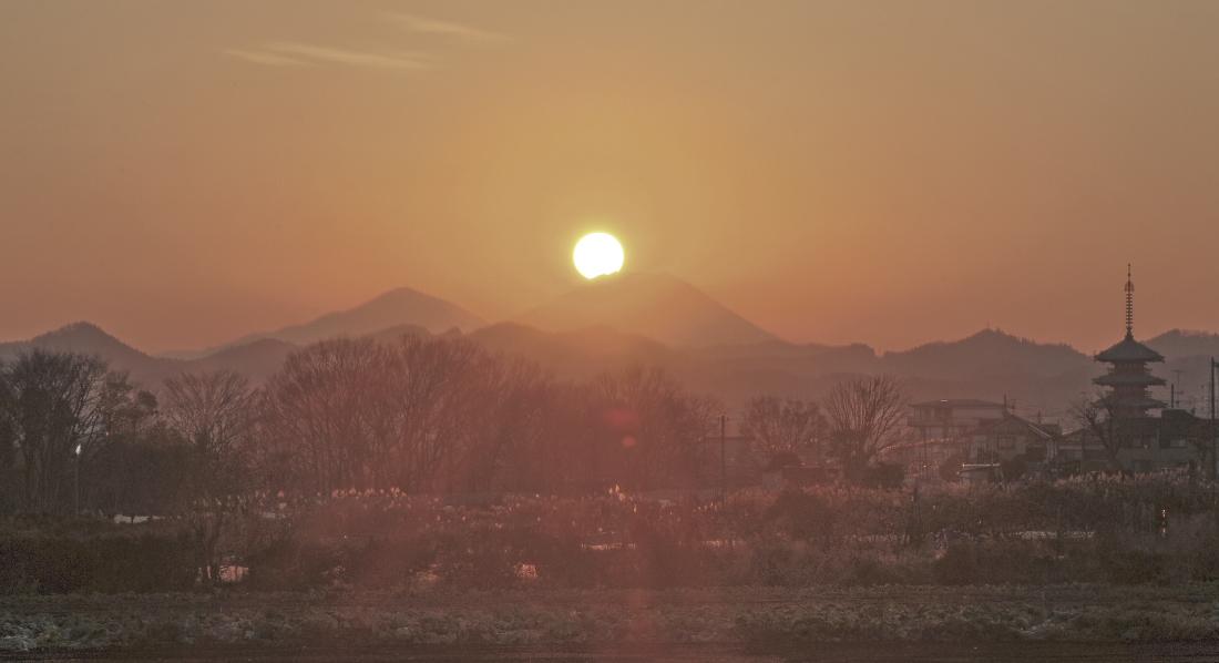 八王子市ダイヤモンド富士_a0150260_263570.jpg