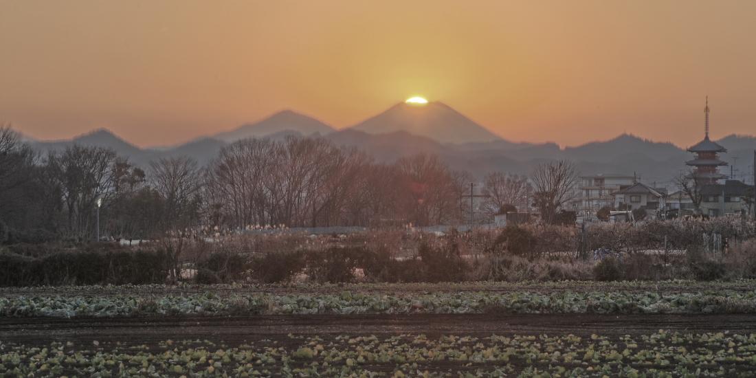 八王子市ダイヤモンド富士_a0150260_275345.jpg