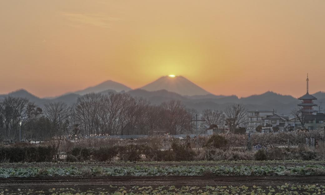 八王子市ダイヤモンド富士_a0150260_28977.jpg