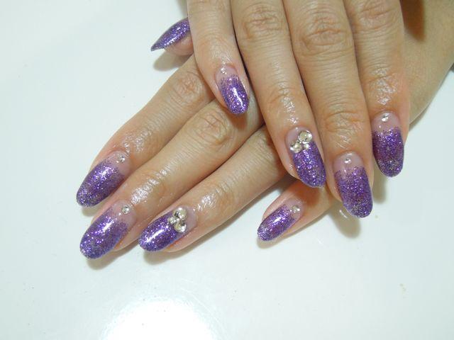Purple Lame Nail_a0239065_9485662.jpg